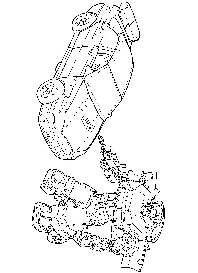 Kids-n-fun.com | 33 coloring pages of Transformers