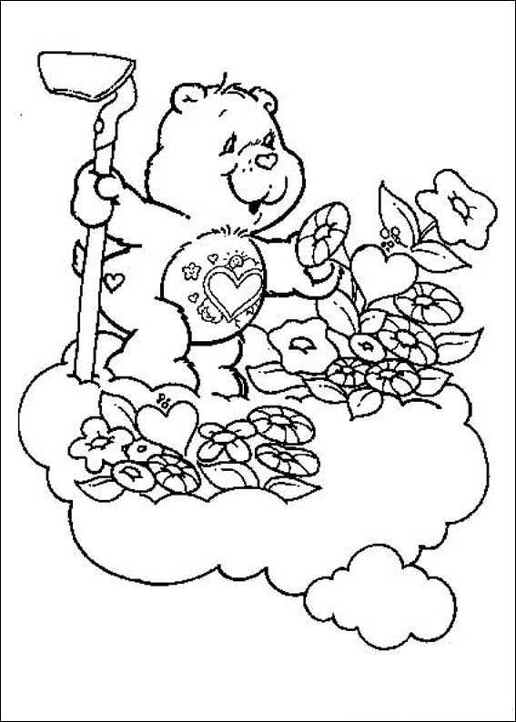 Kids n funcom 63 coloring pages of Care Bears