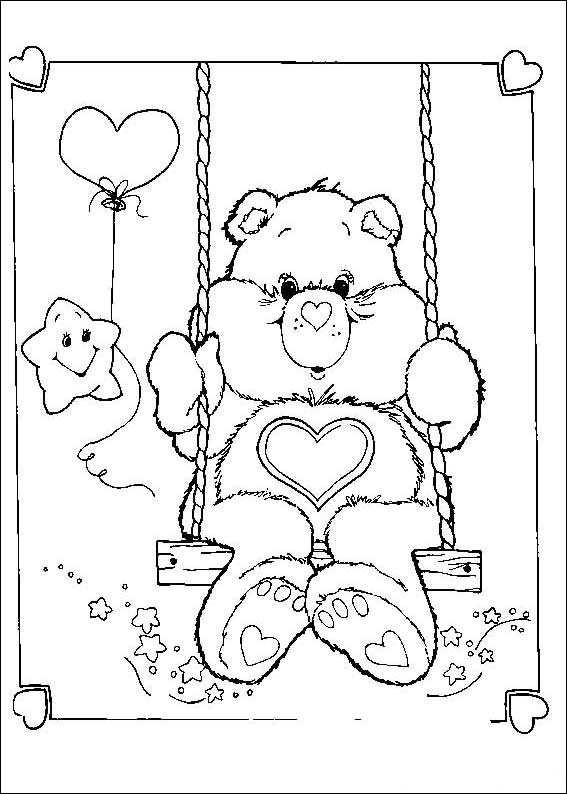 care bears - Care Bears Coloring Pages