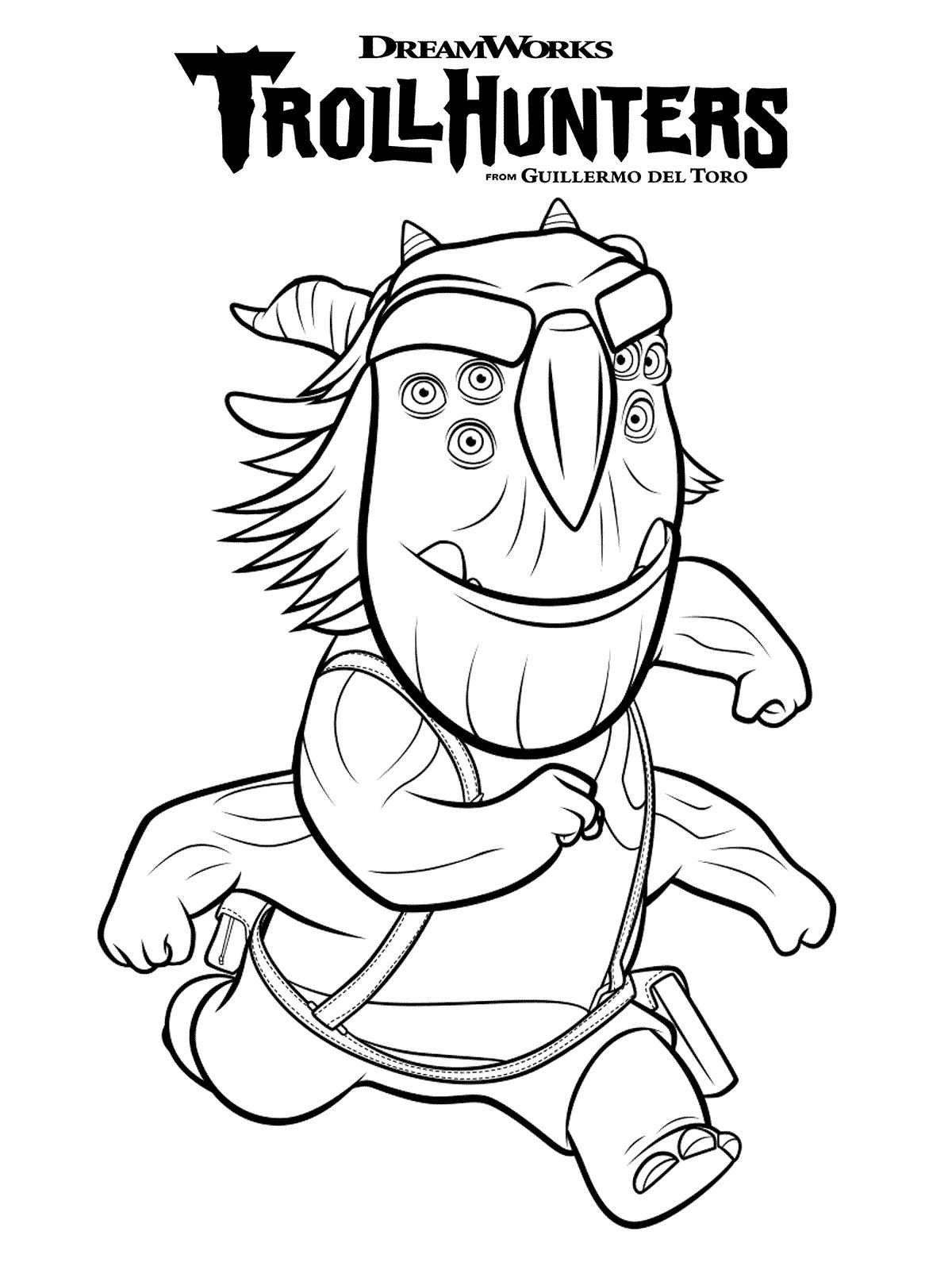 trollhunters coloring pages Kids n fun.| 10 coloring pages of Trollhunters trollhunters coloring pages