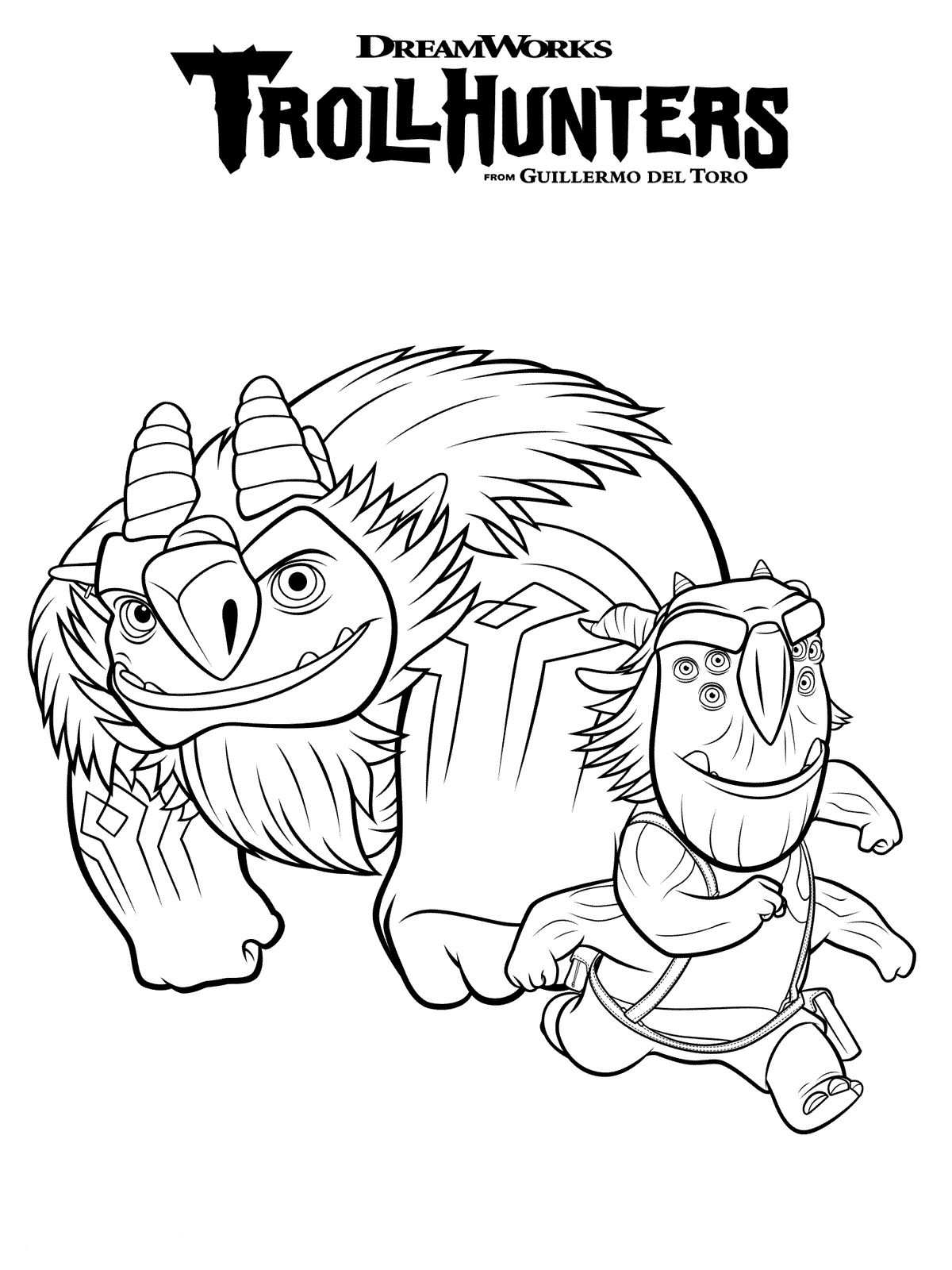 Kids-n-fun.com | 10 coloring pages of Trollhunters