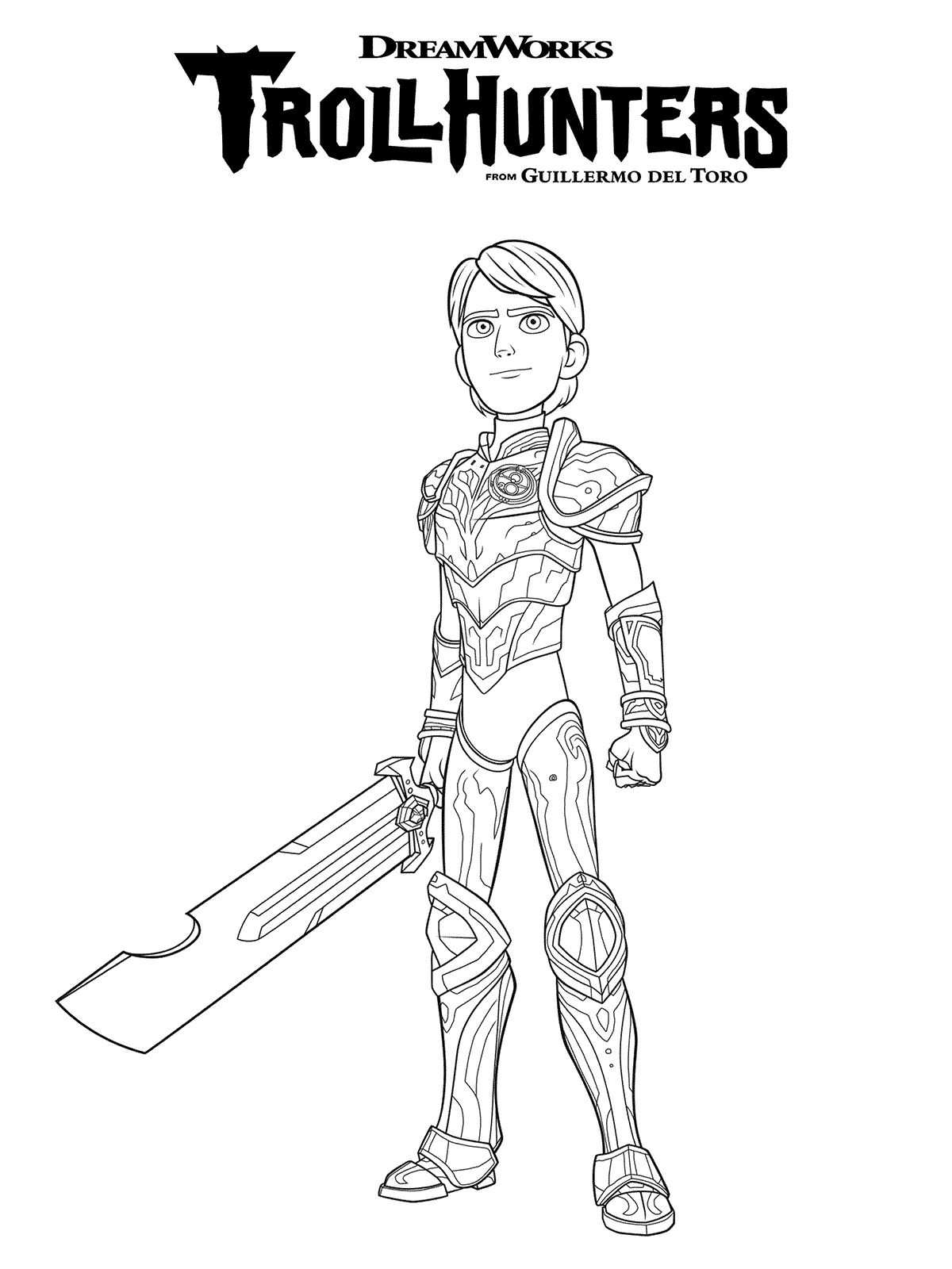 10 Coloring Pages Trollhunters