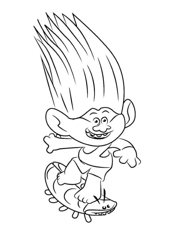 aspen heitz - Trolls Coloring Pages