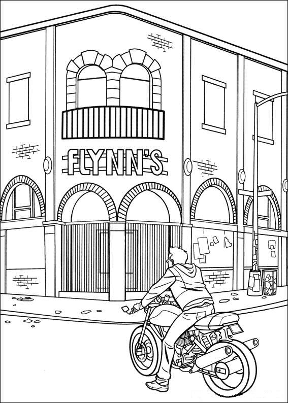 Kidsnfuncouk 29 coloring pages of Tron