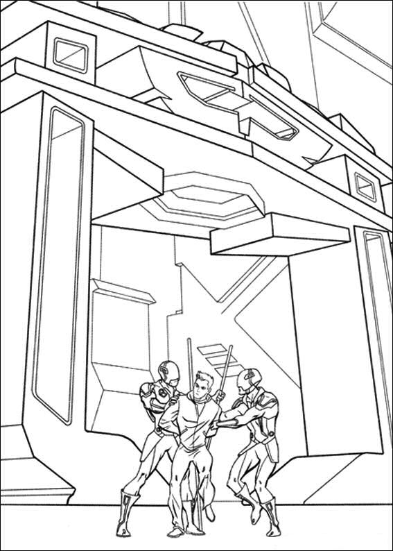 29 Tron Coloring Pages