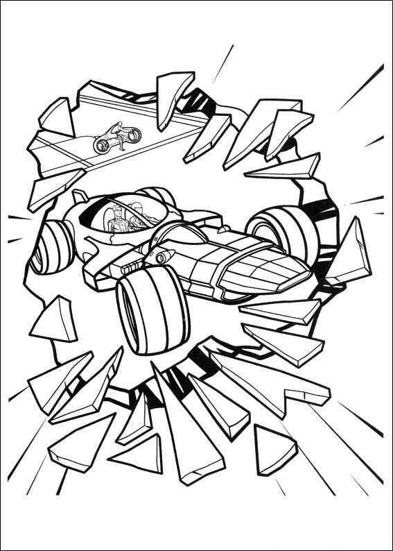 tron coloring pages to print - photo#29