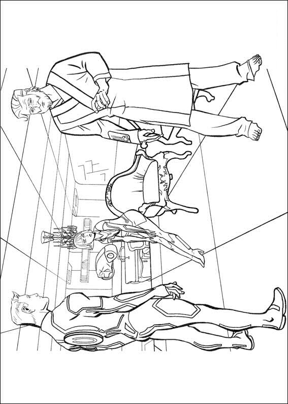 tron coloring pages to print - photo#28