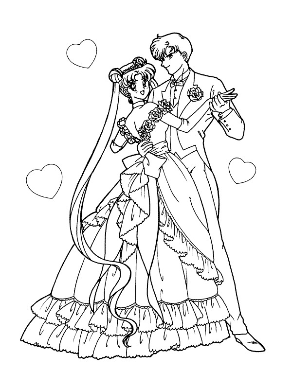 34 marry and weddings coloring pages