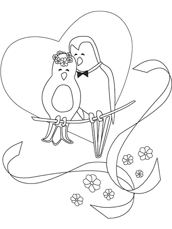 Kids n funcom 34 coloring pages of Marry and Weddings