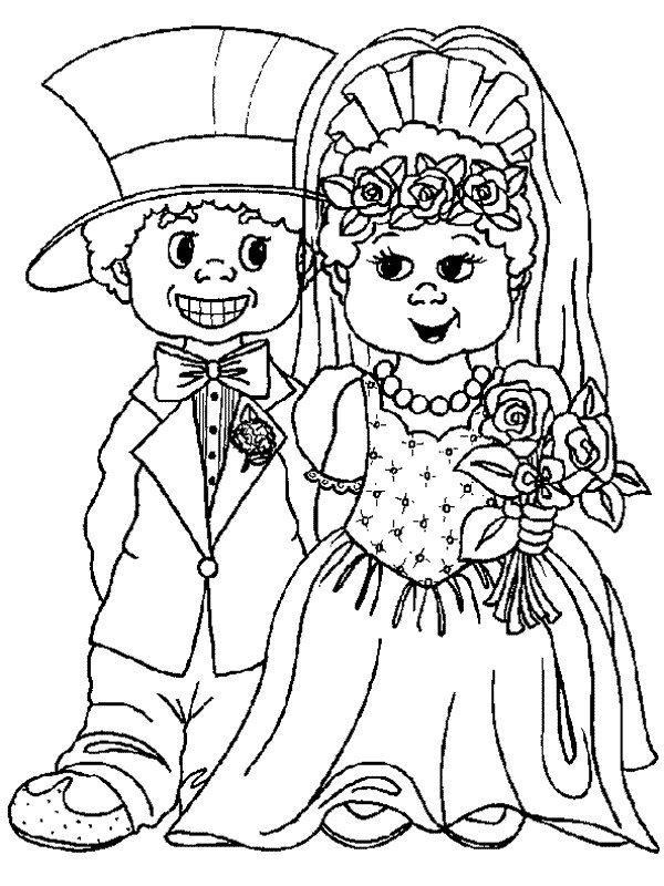 n 34 coloring pages of and weddings