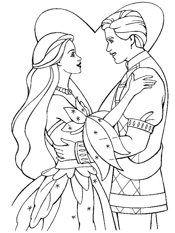 Kids-n-fun.com | 34 coloring pages of Marry and Weddings