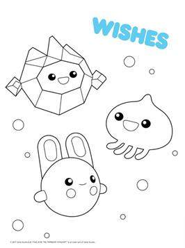 Kids-n-fun.com | 10 coloring pages of True and the Rainbow ...