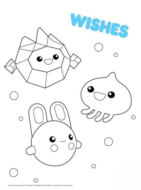 Kids-n-fun.com | Coloring page True and the Rainbow ...