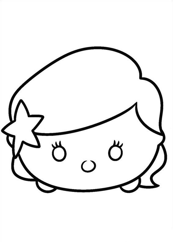 Kids n funcom 27 coloring pages of Tsum tsum