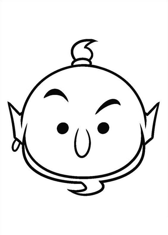 tsum tsum stack coloring pages | Kids-n-fun.com | 27 coloring pages of Tsum tsum
