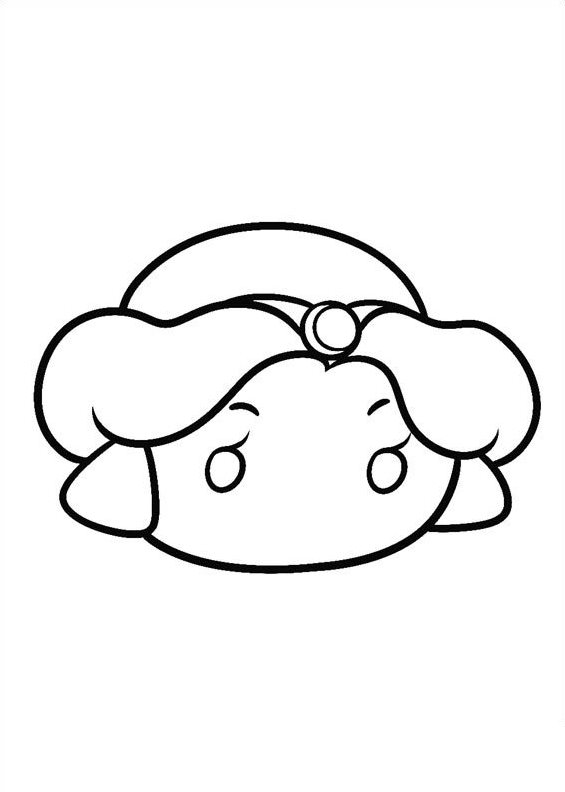 n 27 coloring pages of tsum tsum
