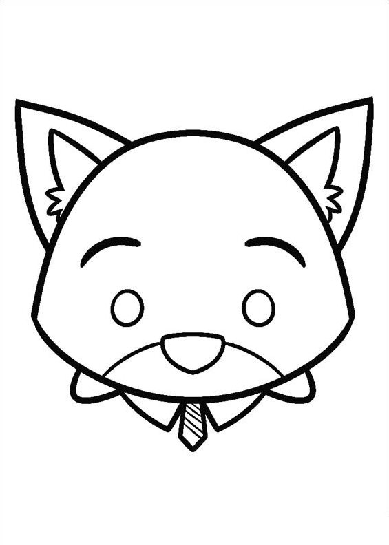 Kids-n-fun.com | 27 coloring pages of Tsum tsum