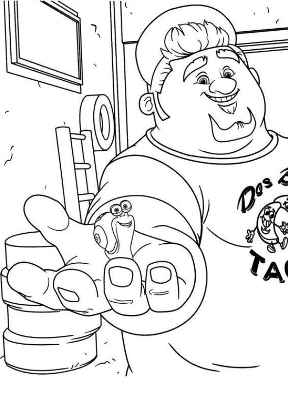 Kids-n-fun.com | 44 coloring pages of Turbo (Pixar)