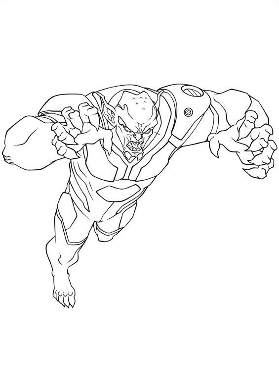 mini coloring pages spiderman - photo#42