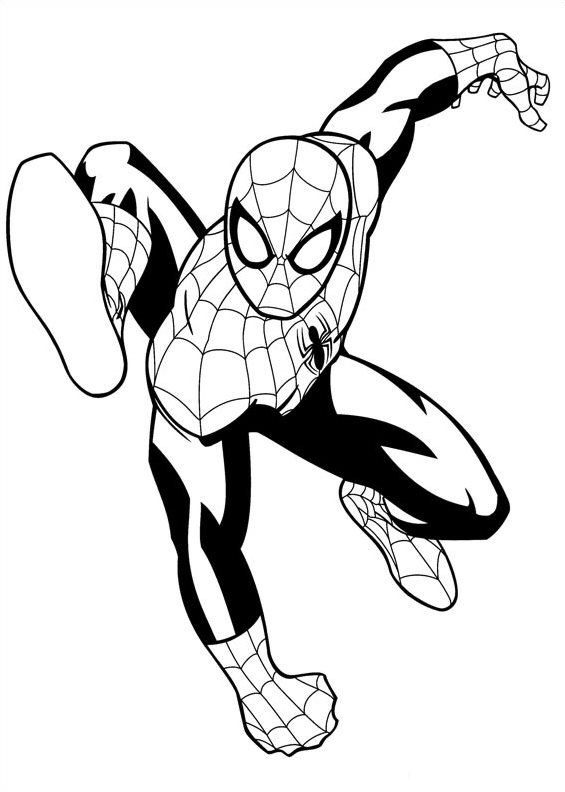 Iron fist ultimate spider man coloring pages coloring pages for Iron spiderman coloring pages