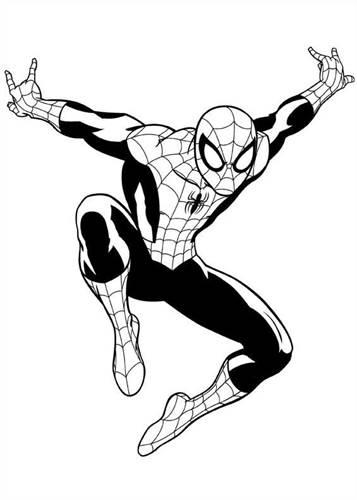 Kleurplaten Spiderman 4.Kids N Fun Com 16 Coloring Pages Of Ultimate Spider Man