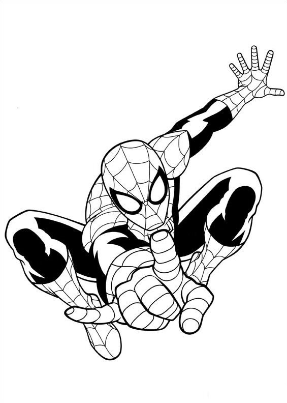 And More Of These Coloring Pages Avengers Spiderman 3