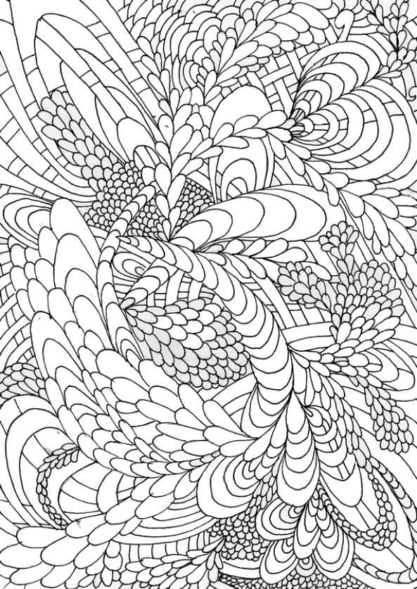 n 5 coloring pages of handmade for adults