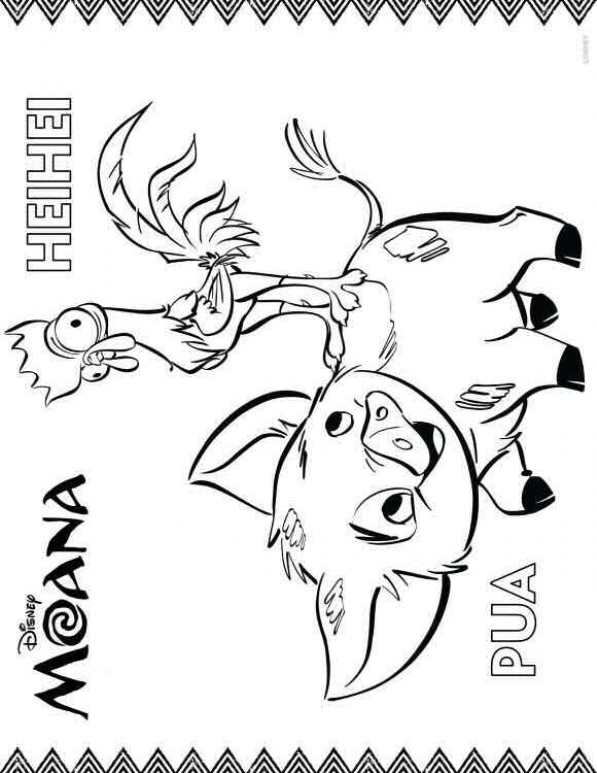 n 20 coloring pages of moana