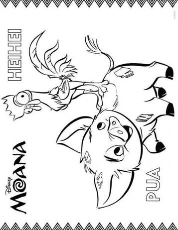 Kids-n-fun.com   20 coloring pages of Moana