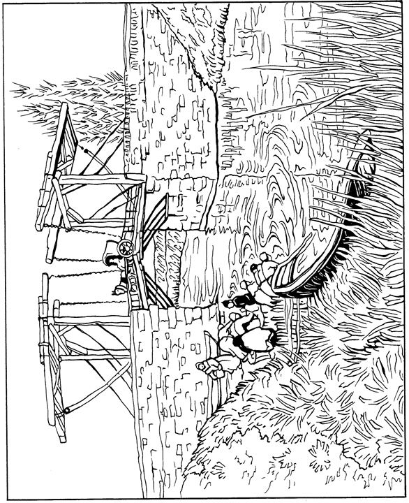 coloring pages van gough - photo#16