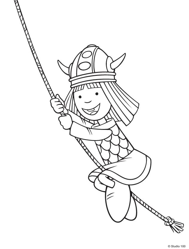 Kids n 36 coloring pages of wicky the viking Coloring book wiki