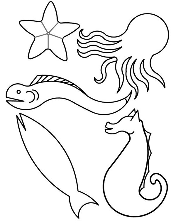 Kidsnfuncom  41 coloring pages of Fish