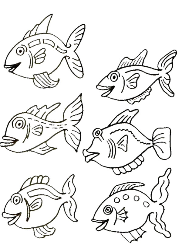 kids n funcouk 41 coloring pages of fish
