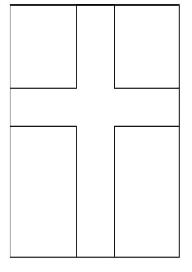 Kidsnfun 27 coloring pages of Flags