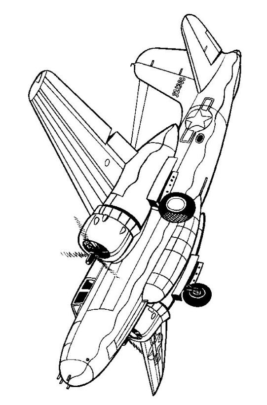 kidsnfuncom 46 coloring pages of wwii aircrafts