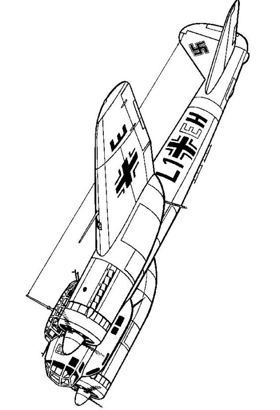 wwii coloring pages - photo#15