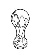 coloring page Fifa world cup