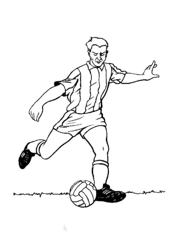 n 23 coloring pages of soccer