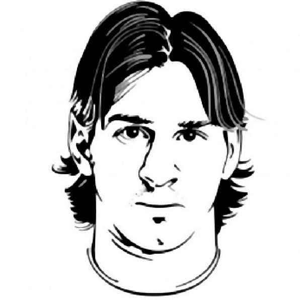 Kids N Fun Com Coloring Page Soccer Lionel Messi