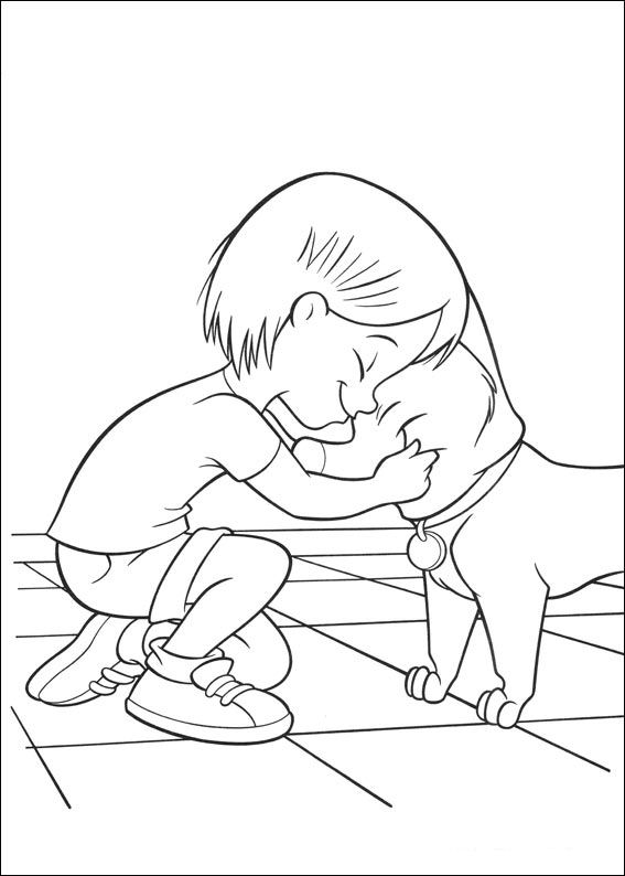 Kids-n-fun.com | 32 coloring pages of Bolt