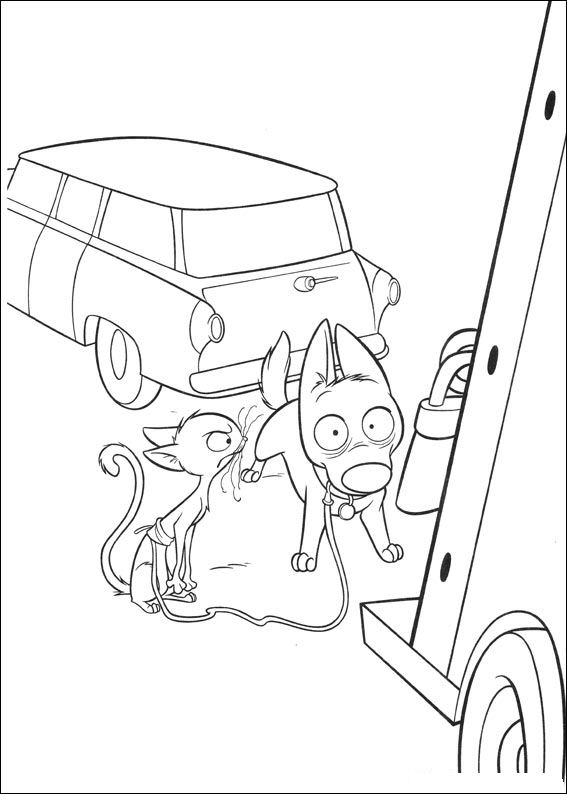 Kids N Fun Com 32 Coloring Pages Of Bolt