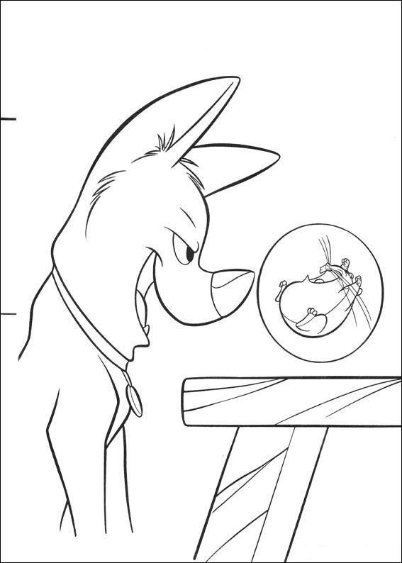 Hamster Kleurplaten Kids N Fun Com 32 Coloring Pages Of Bolt