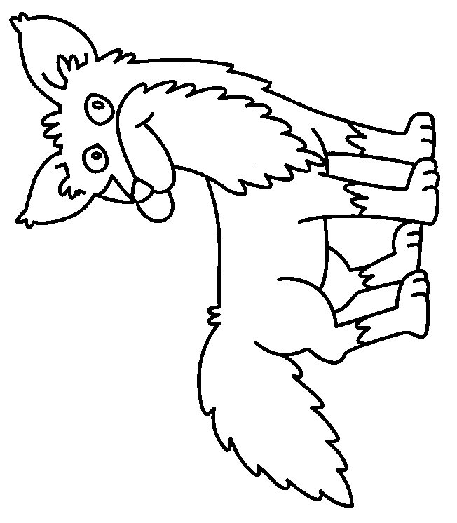 g fox co coloring pages - photo #2