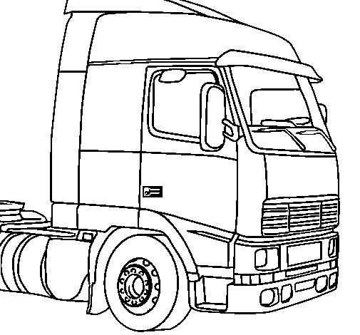 Kidsnfuncom  32 coloring pages of Trucks