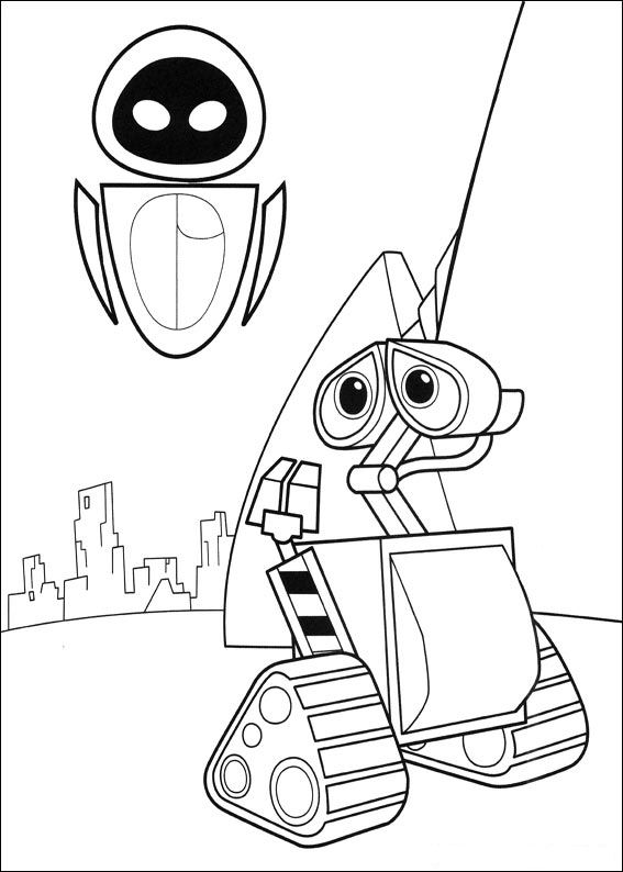 59 wall e coloring pages
