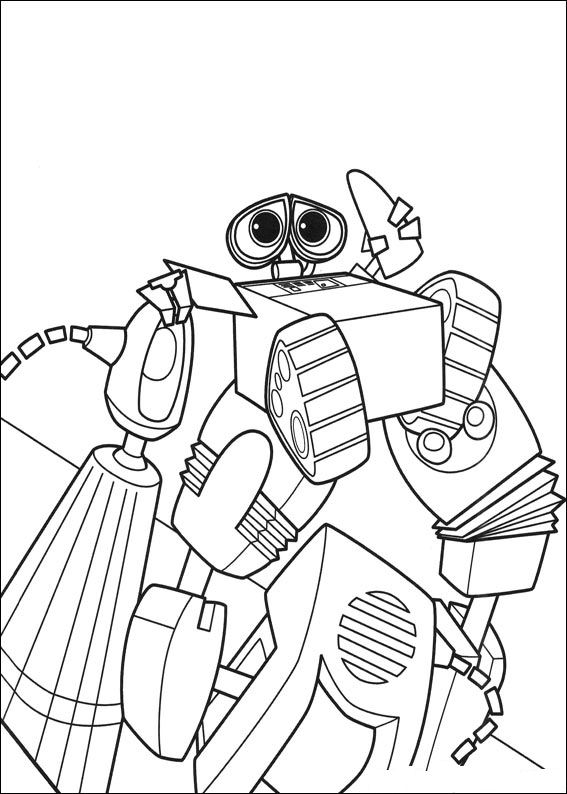 walle free coloring pages - photo#26