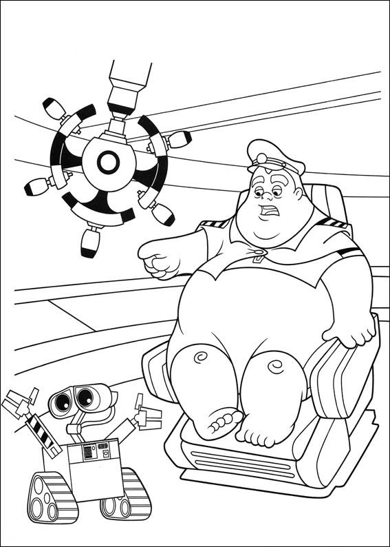 walle free coloring pages - photo#24