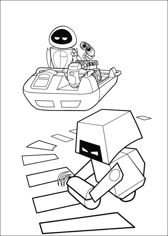 walle free coloring pages - photo#30