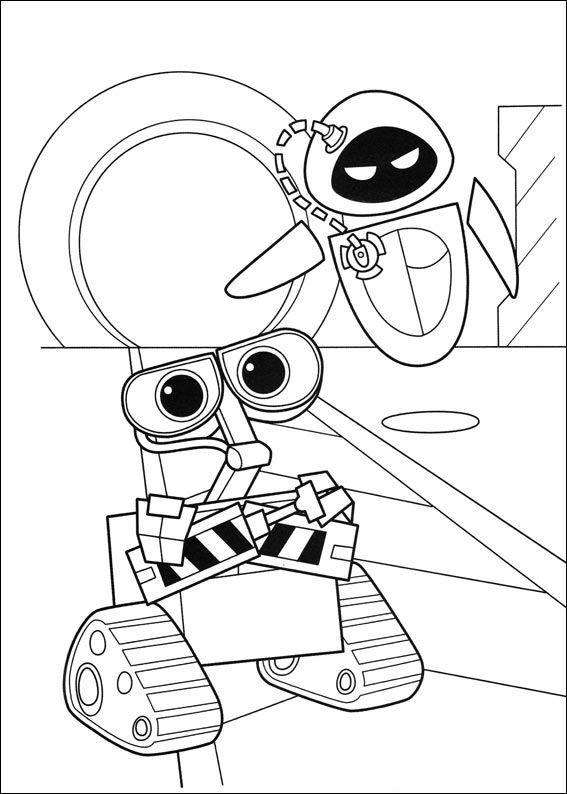 wall_e coloring pages - photo#9