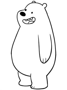 Kids-n-fun.com   15 coloring pages of We bare Bears